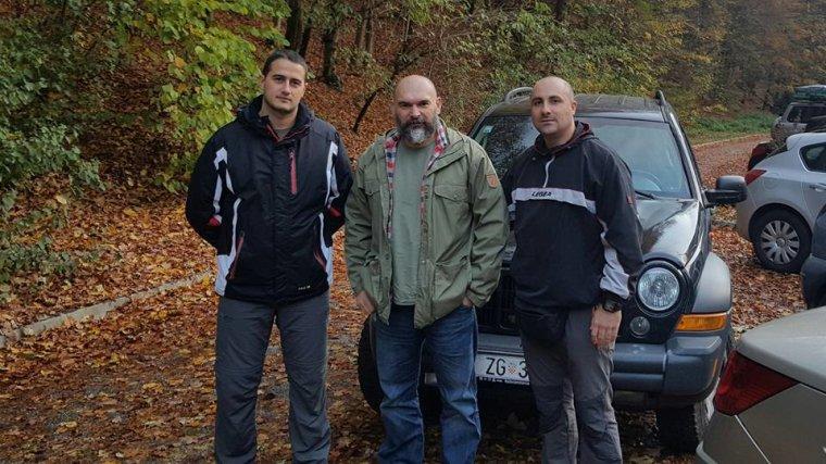 Josip Marić,prof. Harasin i Nikola Perić