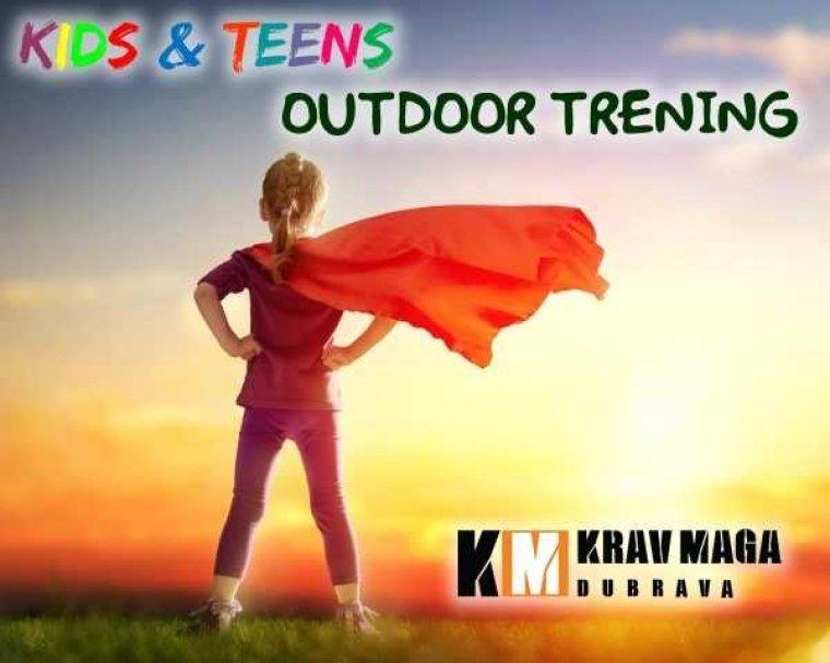 Outdoor treninzi za vrijeme ljetnih praznika